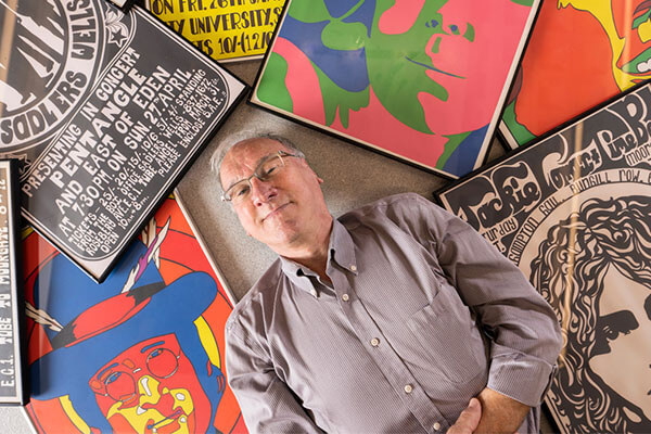 Photo for the news post: Rock Poster Exhibit Brings Back the Sixties